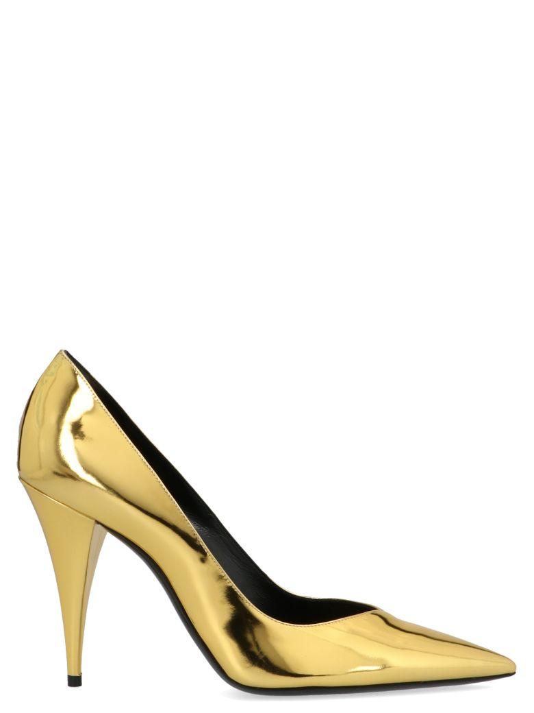 Saint Laurent 'kiki' Shoes - Gold