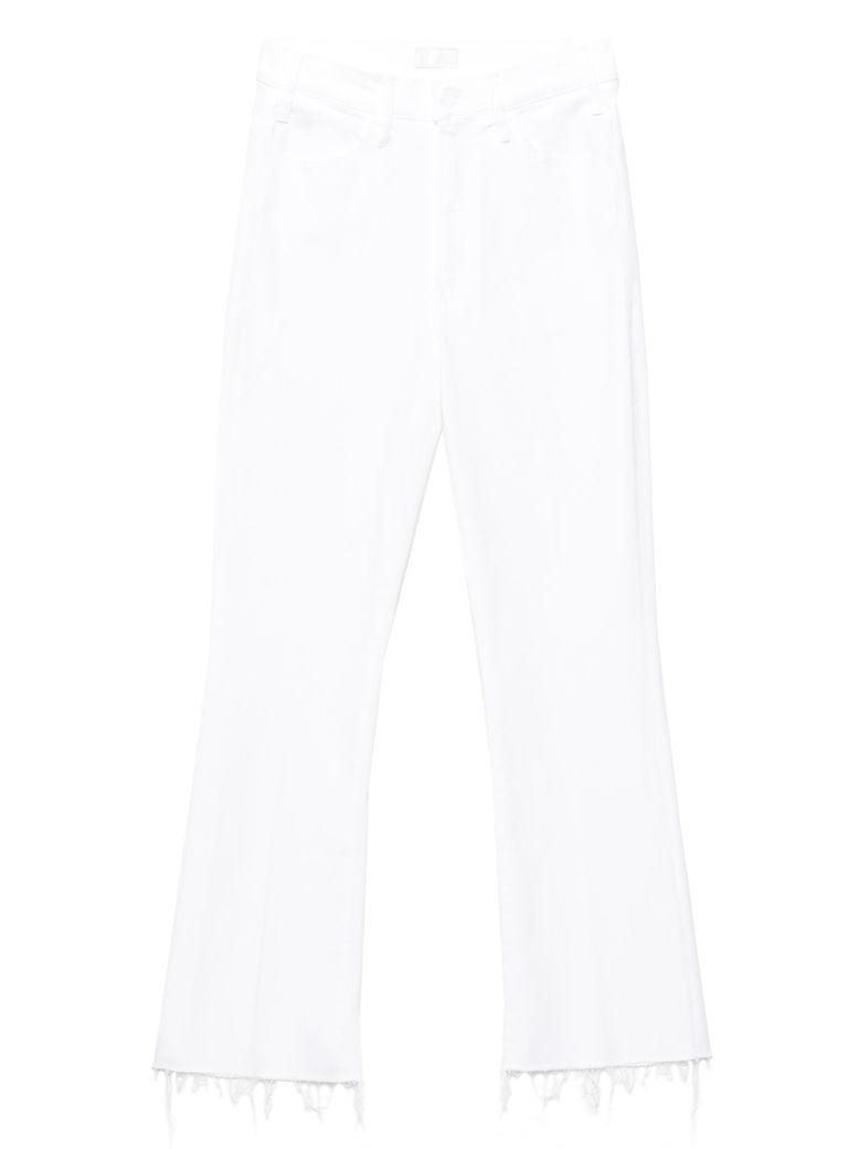 Mother 'the Hustler' Jeans - White