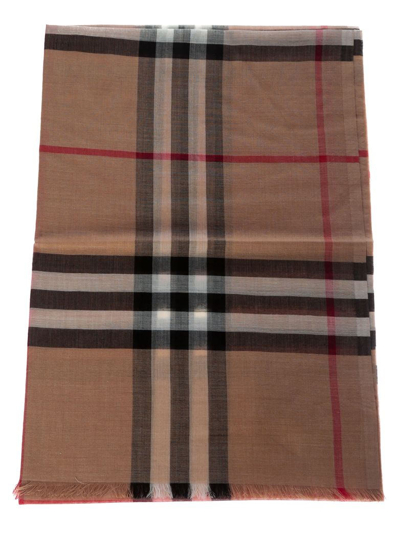 Burberry Lightweight Checked Scarf