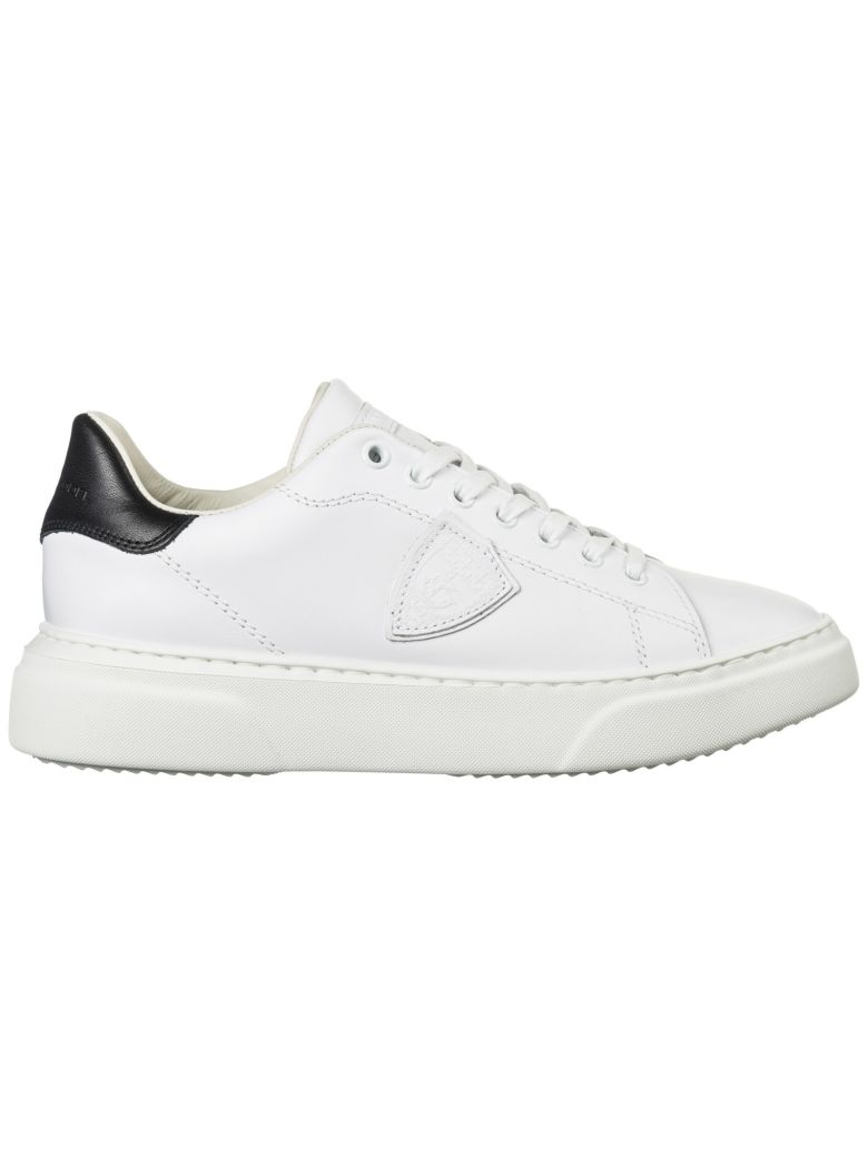 Philippe Model  Shoes Leather Trainers Sneakers Temple - White