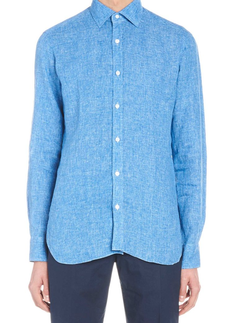 Barba Napoli 'dandy Life' Shirt - Blue