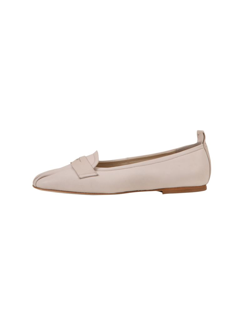 Anna Baiguera Soft Loafers Light Pink - Cream