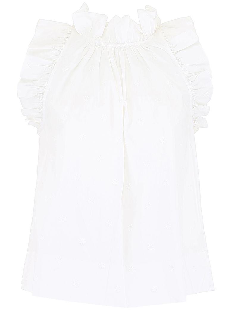 Ulla Johnson Tilda Top - BLANC (White)