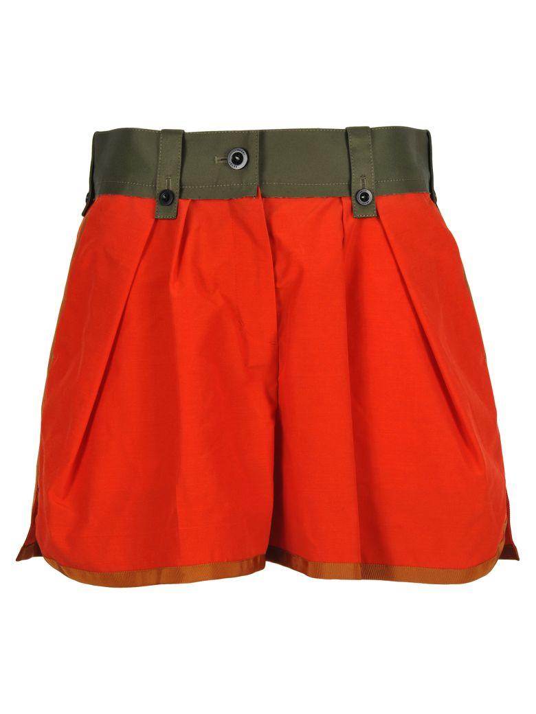 Sacai Sacai Shorts - ORANGE KAKI