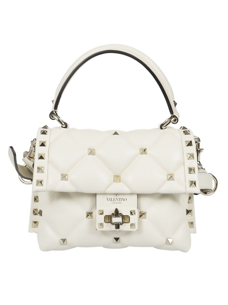 Valentino Candystud Mini Shoulder Bag - Ilight Ivory