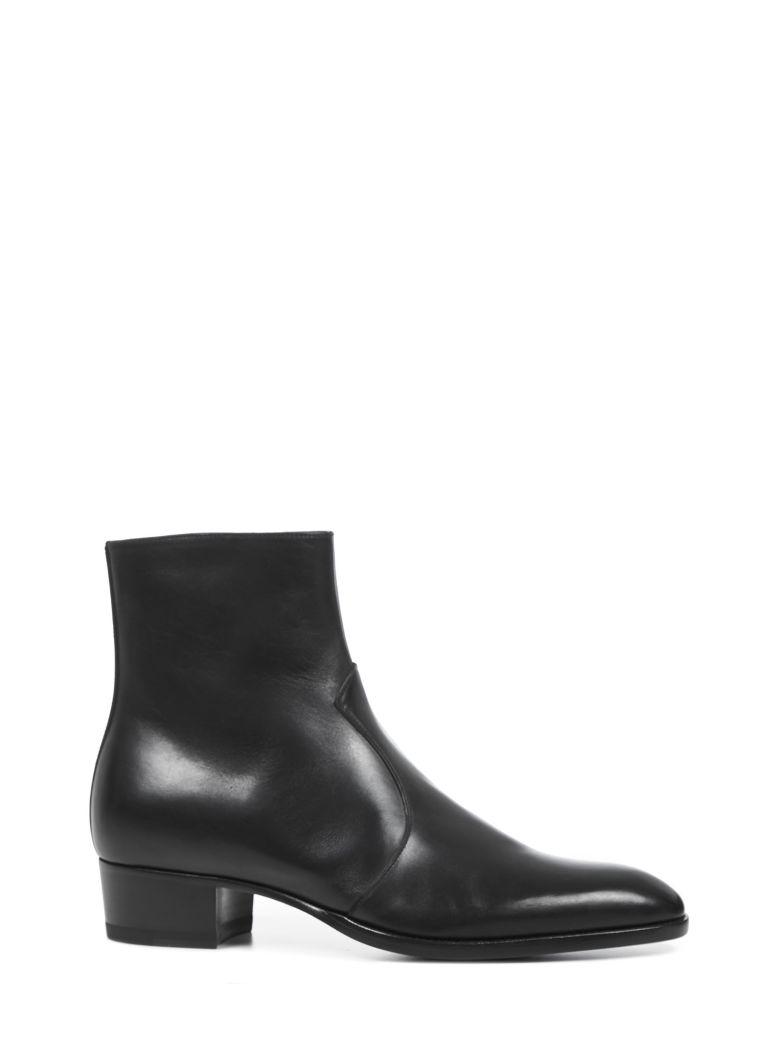 Saint Laurent Wyatt Boots - Black