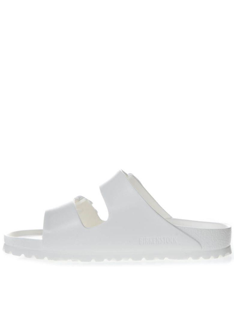 Birkenstock White Arizona Slippers - White