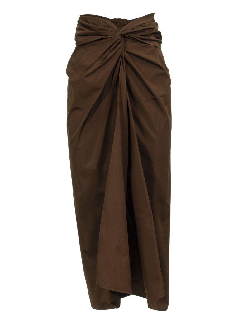 Max Mara Tacito Skirt - BROWN