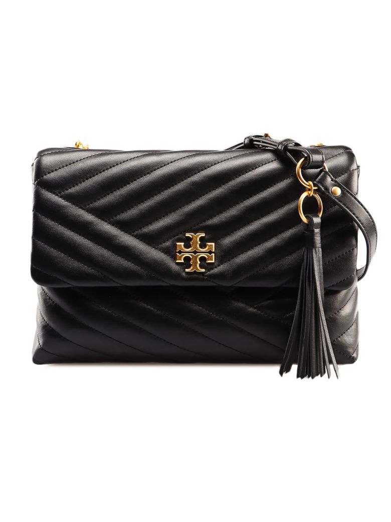 Tory Burch Kira Chevron Shoulder Bag - Black