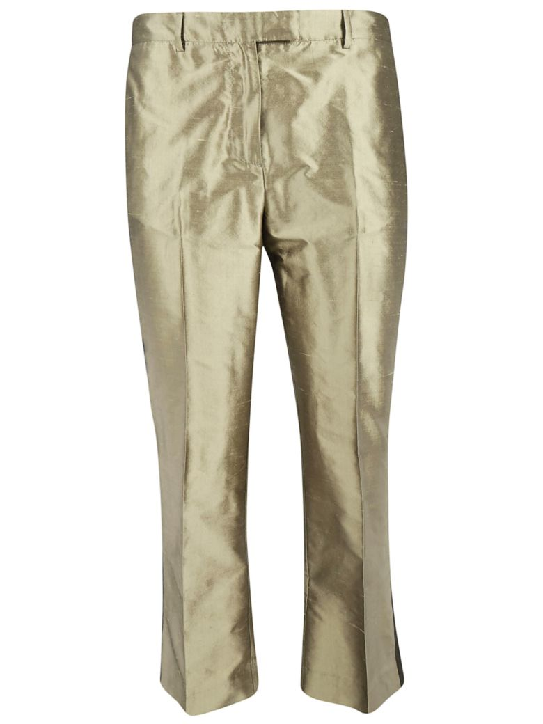Ibrigu Side Stripe Trousers - Bronze