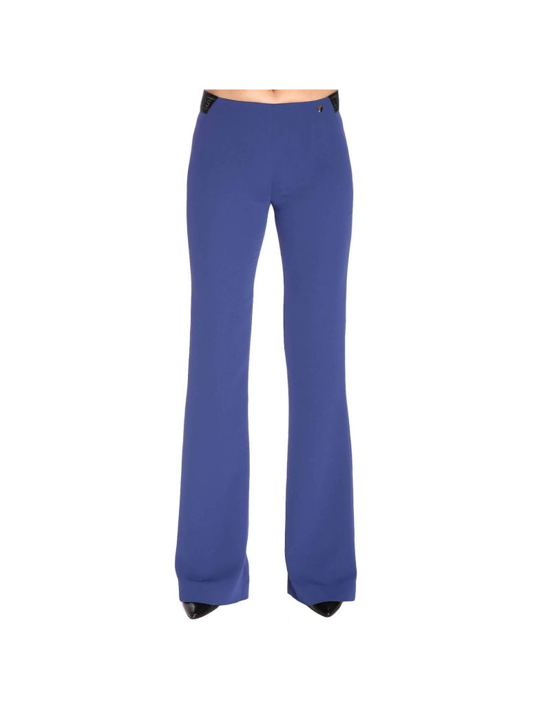 Versace Collection Pants Pants Women Versace Collection - blue