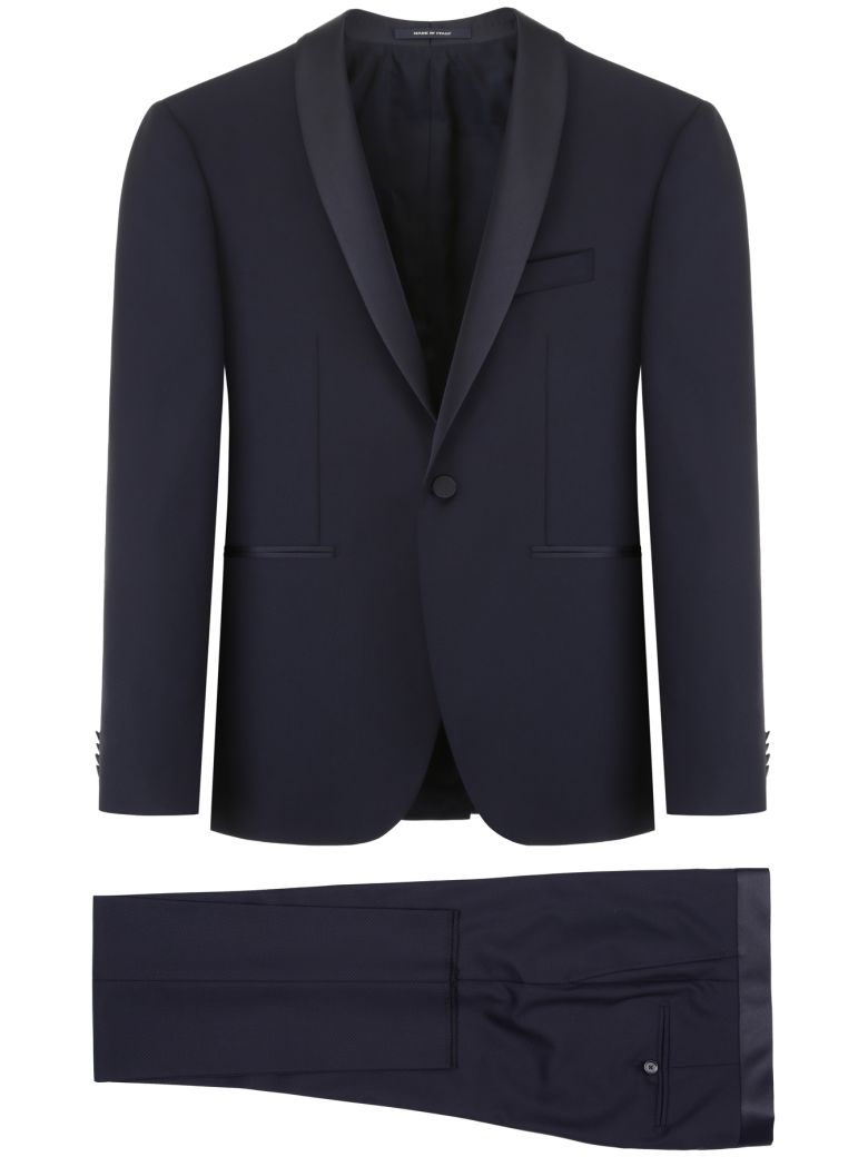 Tagliatore Bruce Two-piece Suit - NAVY (Blue)