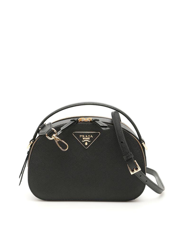 Prada Saffiano Odette Bag - NERO (Black)