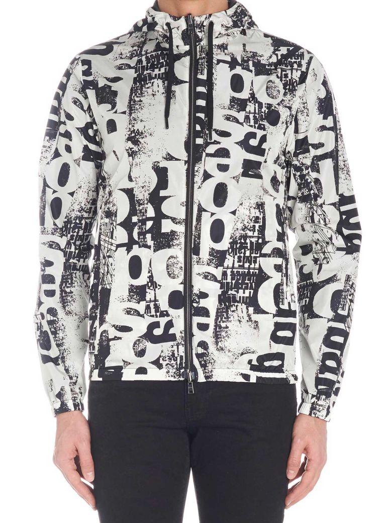Herno 'newspaper' Jacket - Black&White
