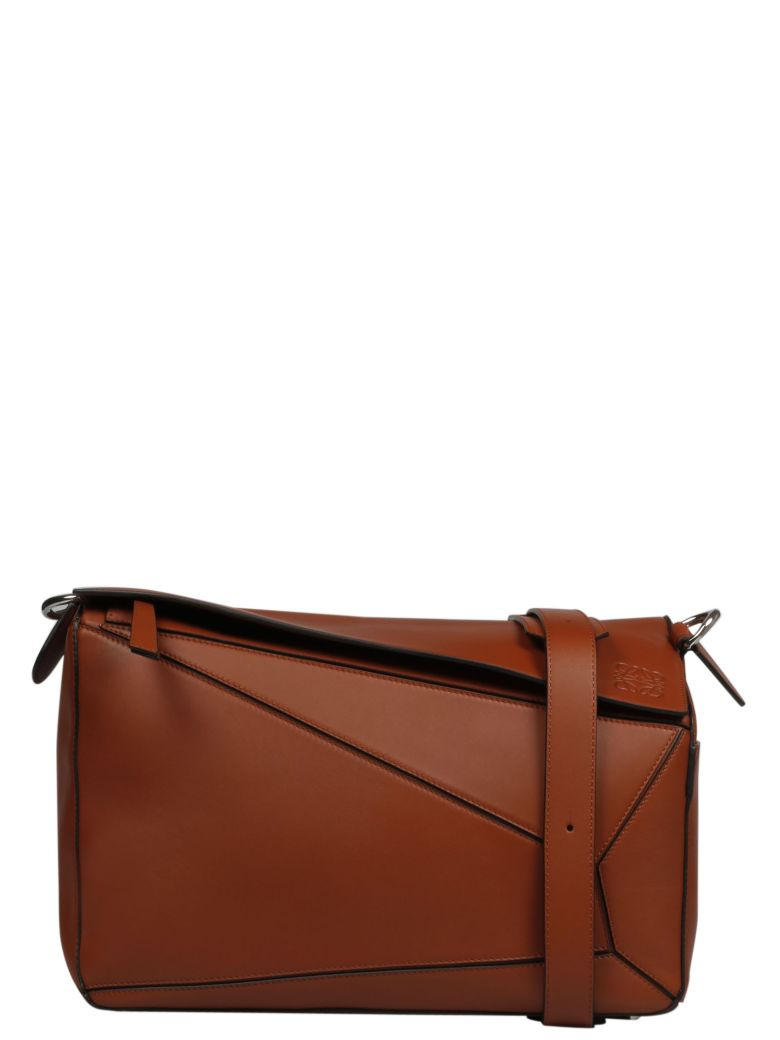 Loewe Puzzle Hand Bag - Rust Color