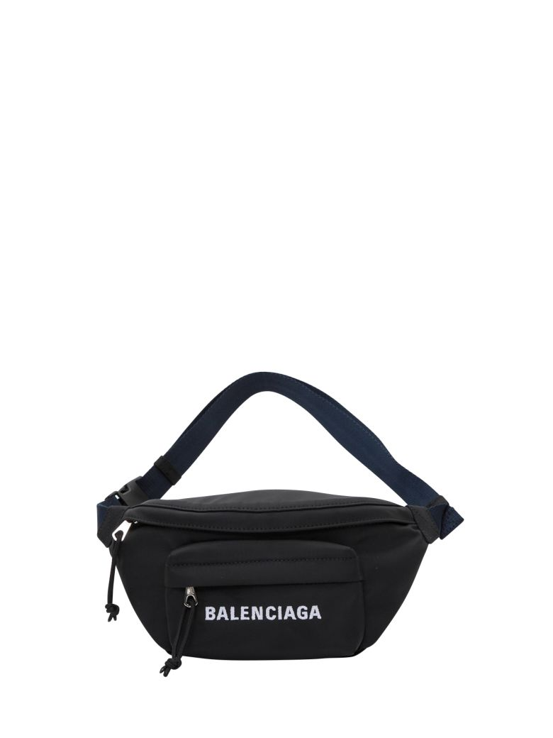 Balenciaga Wheel Belt Pack - Black
