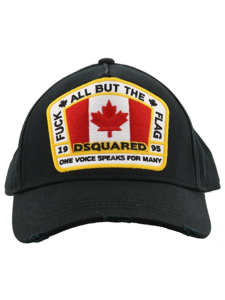 Dsquared2 Canada Patch Baseball Cap - Black