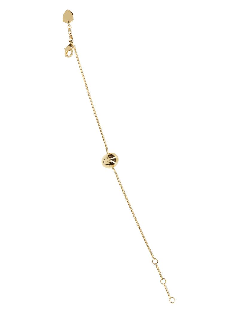 Schield Olive Necklace - Gold