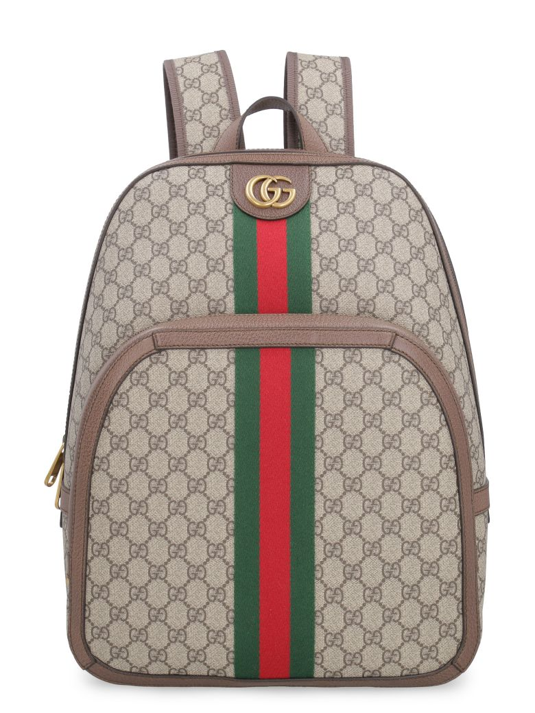 b4d922a83d30 Gucci Gucci Ophidia Gg Supreme Fabric Backpack - Beige - 10899724 ...
