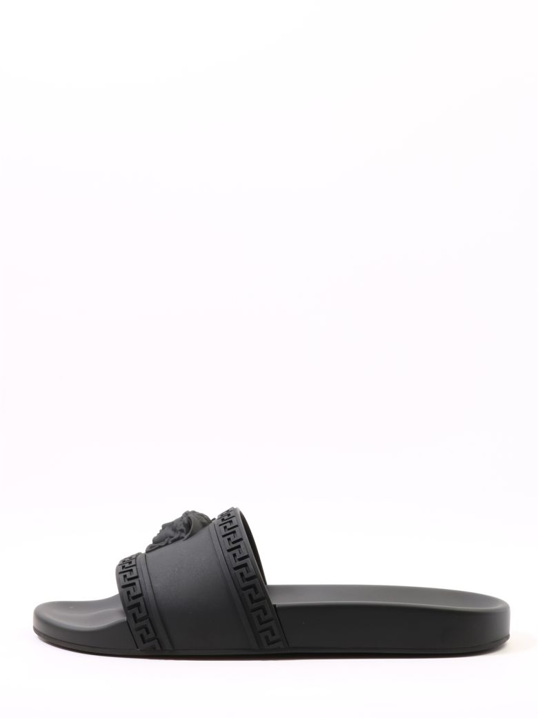 Versace Slippers Medusa - Black