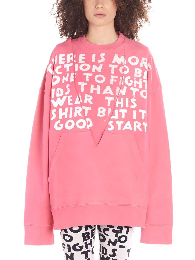 MM6 Maison Margiela Sweatshirt - Pink