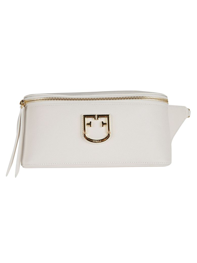 Furla Logo Plaque Shoulder Bag - Multicolor