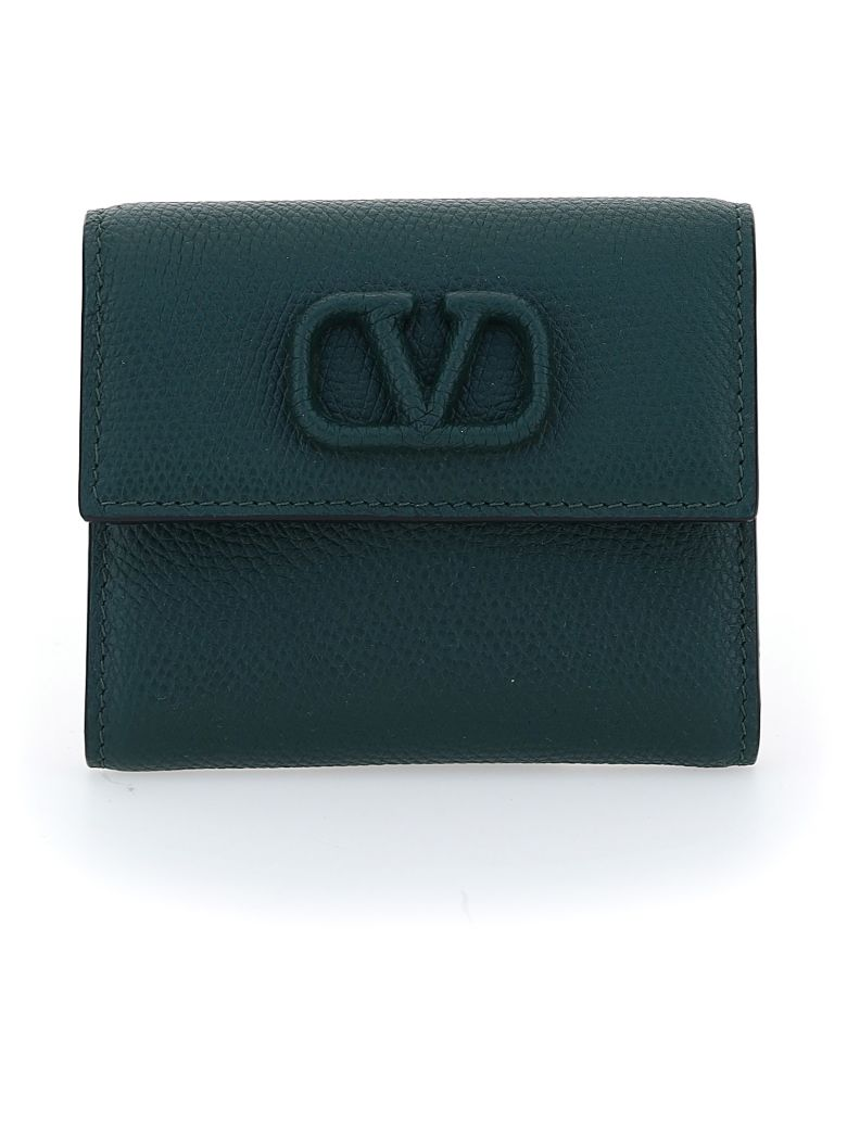 Valentino Garavani Wallet - English green
