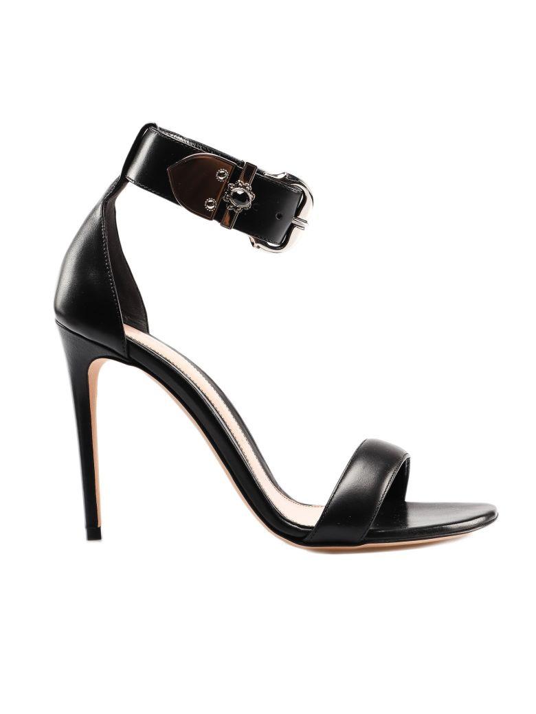 Alexander McQueen Embellished Sandals - Black