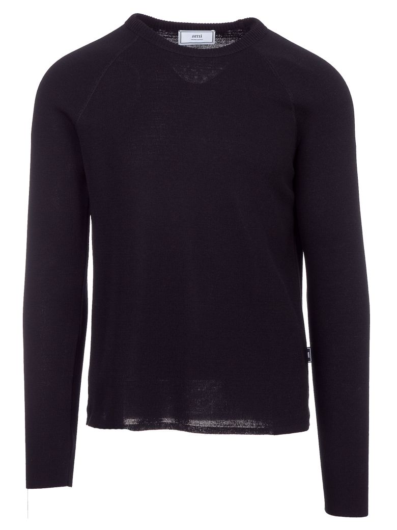 Ami Alexandre Mattiussi Raglan Sleeves Sweater - Blue