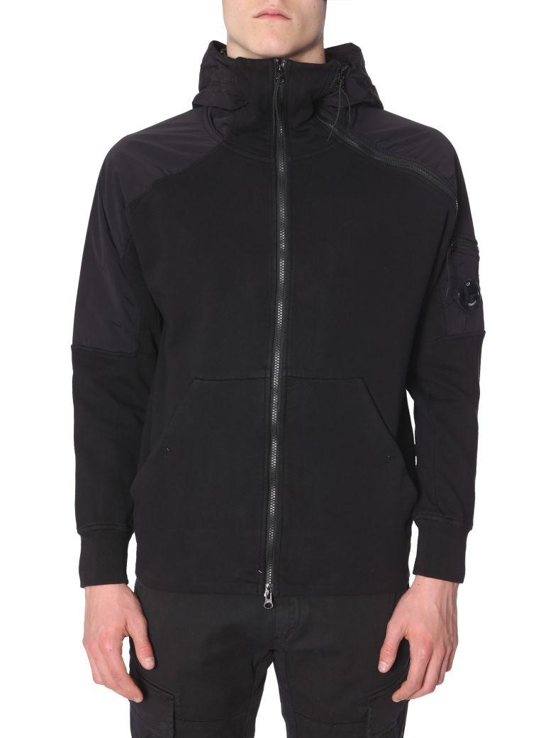 C.P. Company Hooded Sweatshirt - NERO