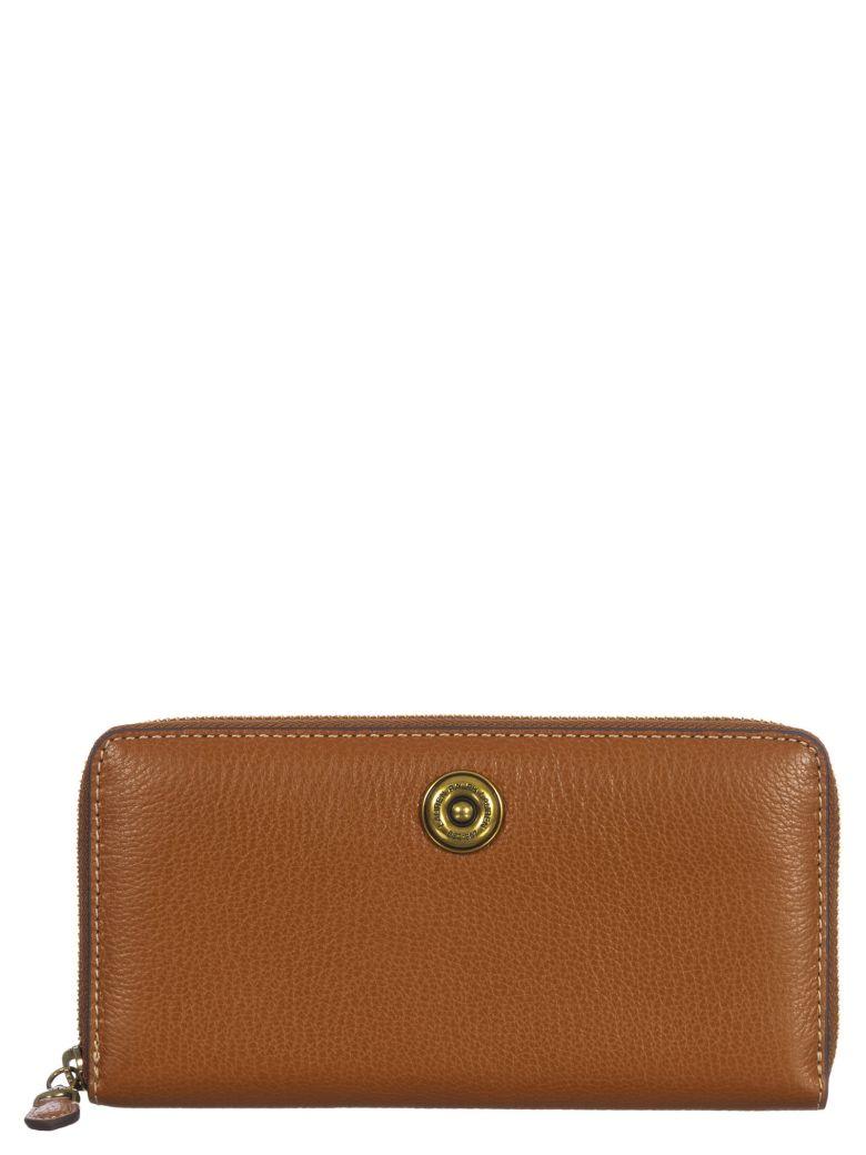 Ralph Lauren Leather Wallet - Lauren-tan/orange