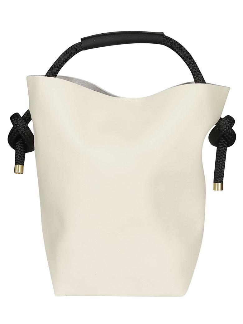 Zucca Round Handle Shopper Bag - Basic