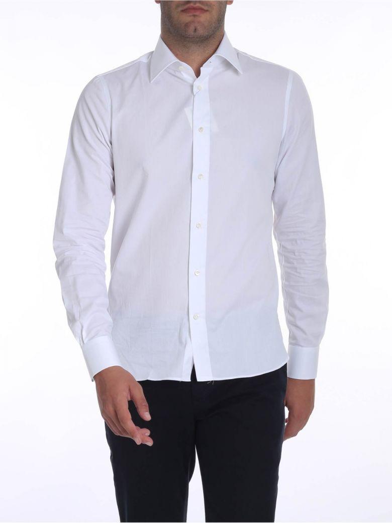 G. Inglese Cotton Shirt - White