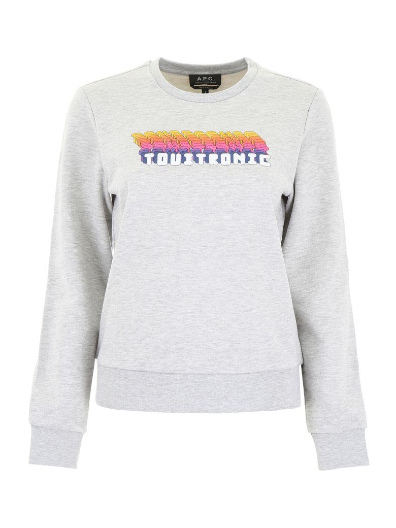 A.P.C. Touitronic Sweatshirt - GRIS CHINE (Grey)