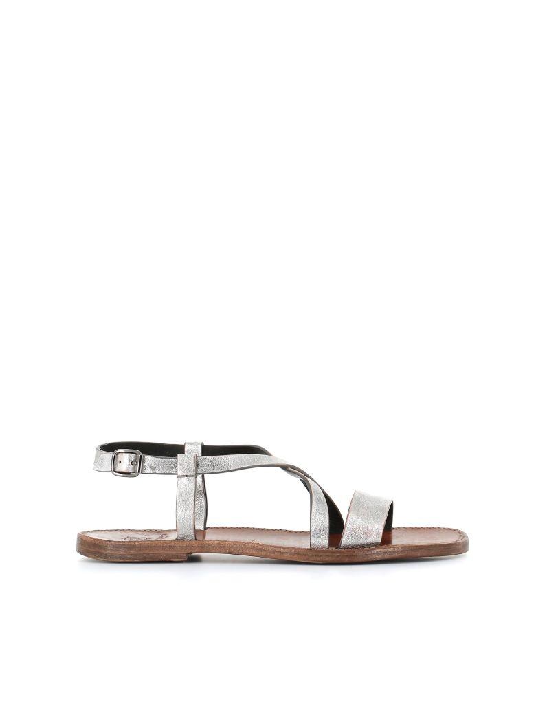 Silvano Sassetti Flat Sandals - Silver