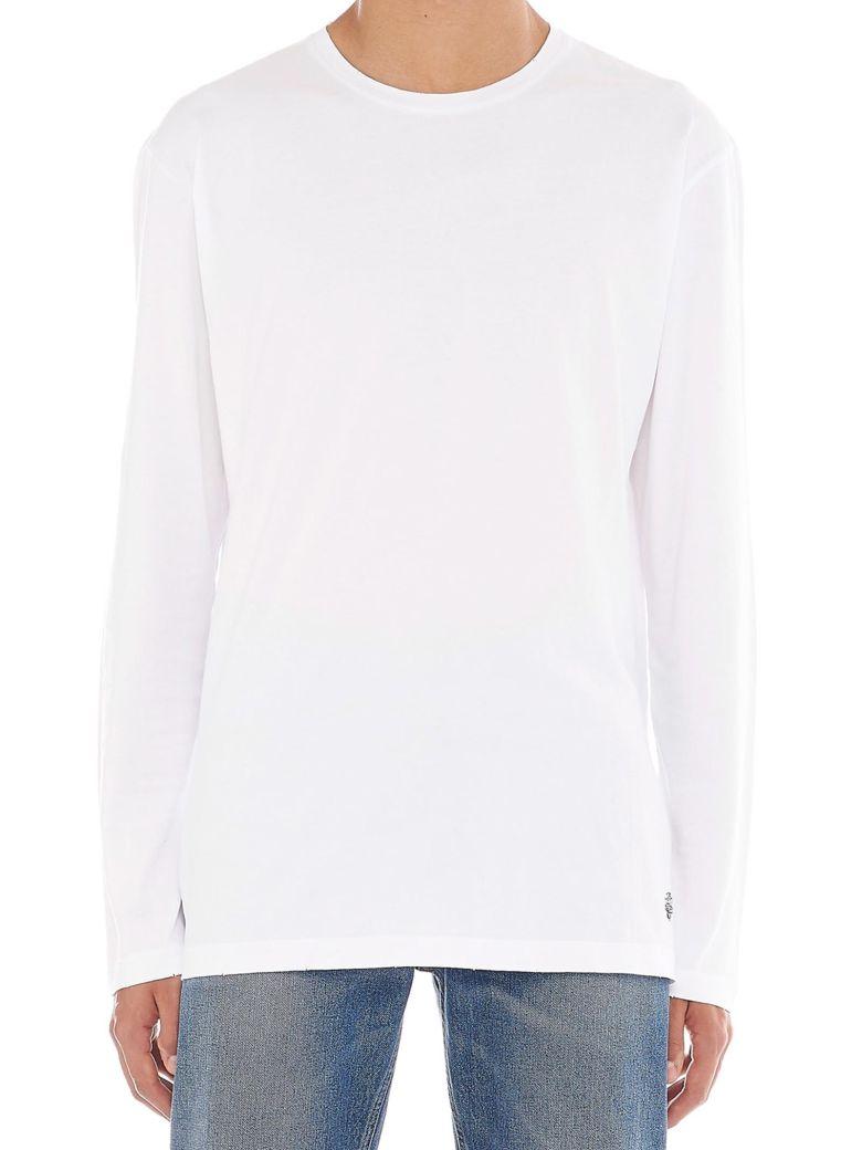 Kent & Curwen 'rose' T-shirt - White