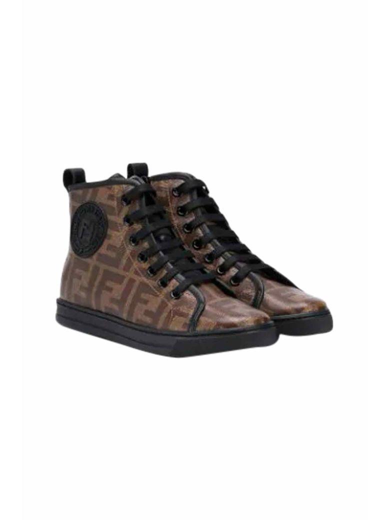Fendi Fendi High Sneakers