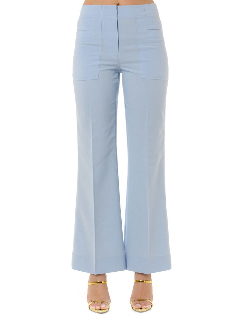 Acne Studios Light Blue Cropped Pants - Light blue