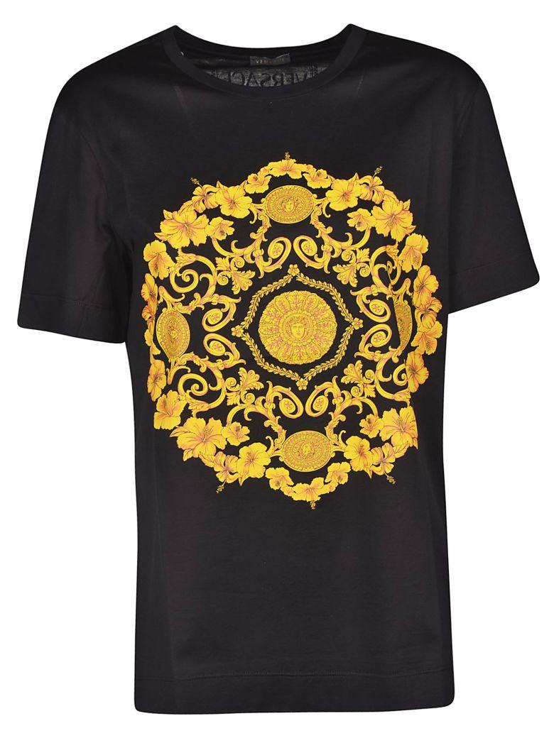 f8e60d47 Versace Versace Baroque Print T-shirt - Black - 10895810 | italist