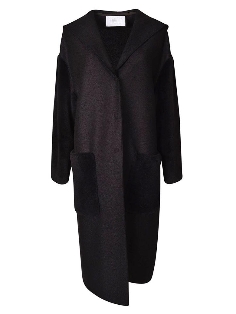 Harris Wharf London Oversized Coat - Black