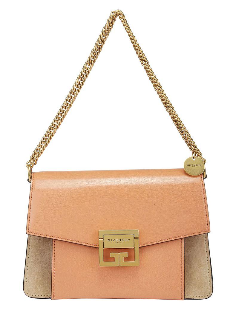 Givenchy Gv3 Shoulder Bag - Pale coral taupe