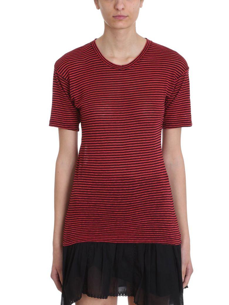 Isabel Marant Étoile Andreia T-shirt - red