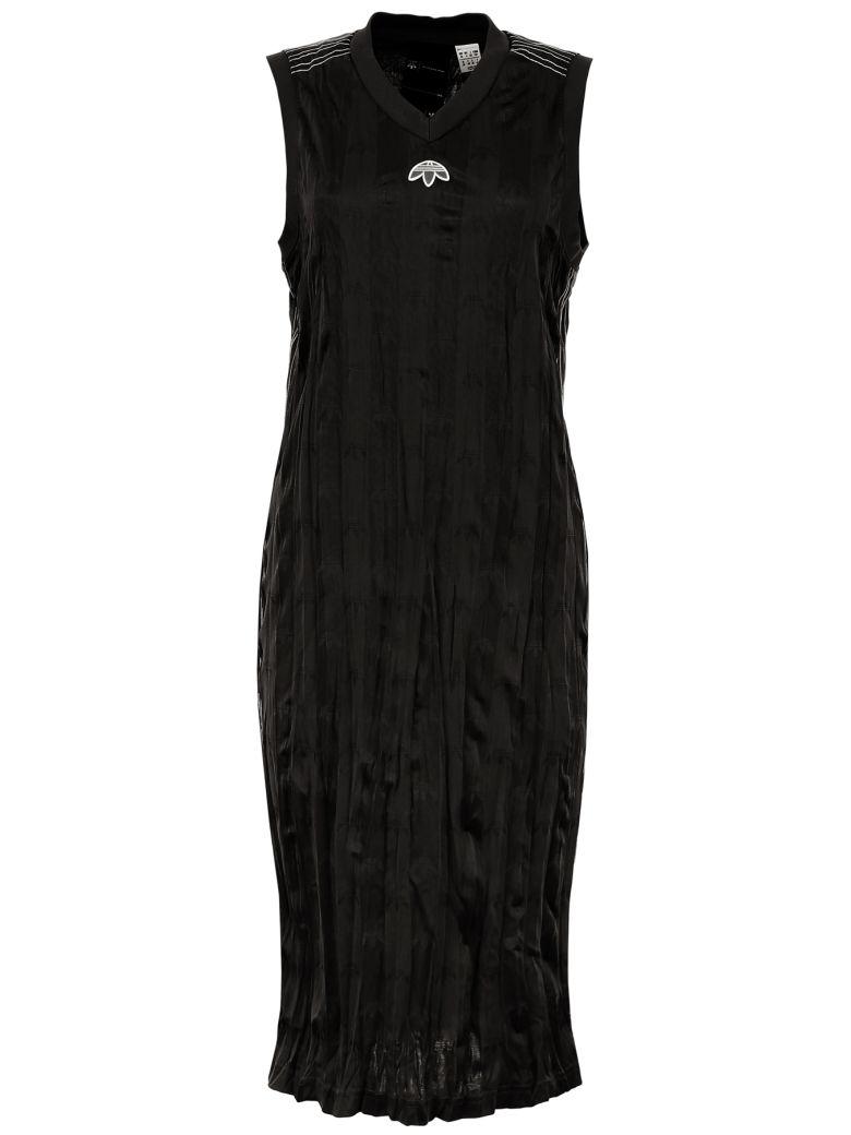 Adidas Originals by Alexander Wang Aw Dress - BLACK WHITE|Nero