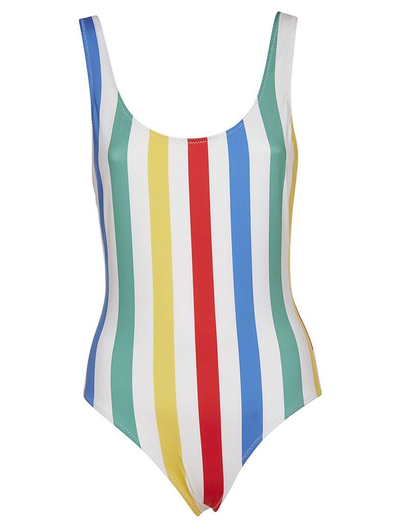 Solid & Striped Striped Swimsuit - Multicolor