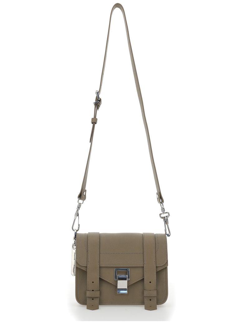 Proenza Schouler Mini Crossbody Shoulder Bag - Light taupe