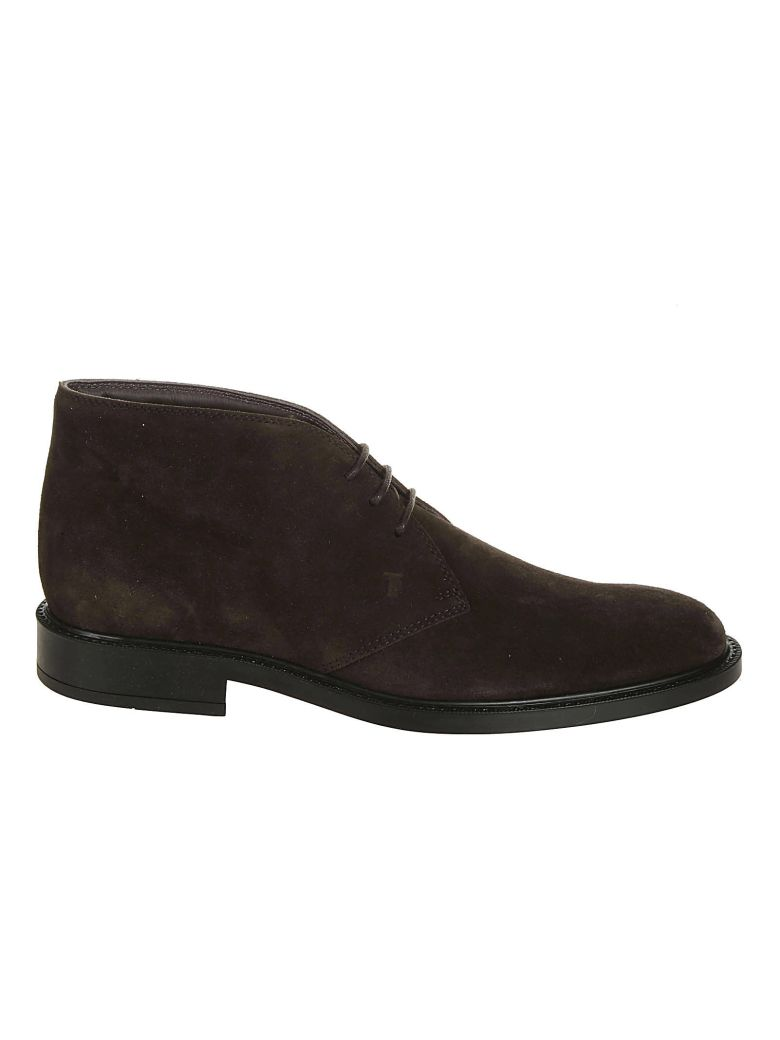 Tod's Short Desert Ankle Boots - Brown