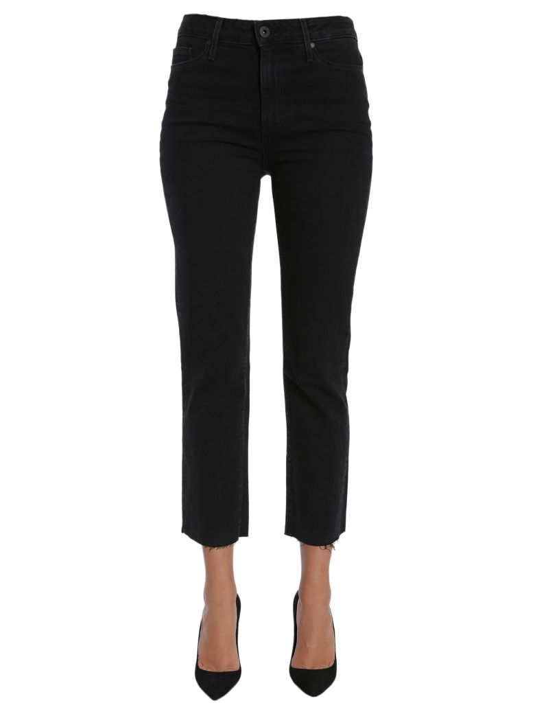 Paige Jacqueline Straight Jeans - NERO