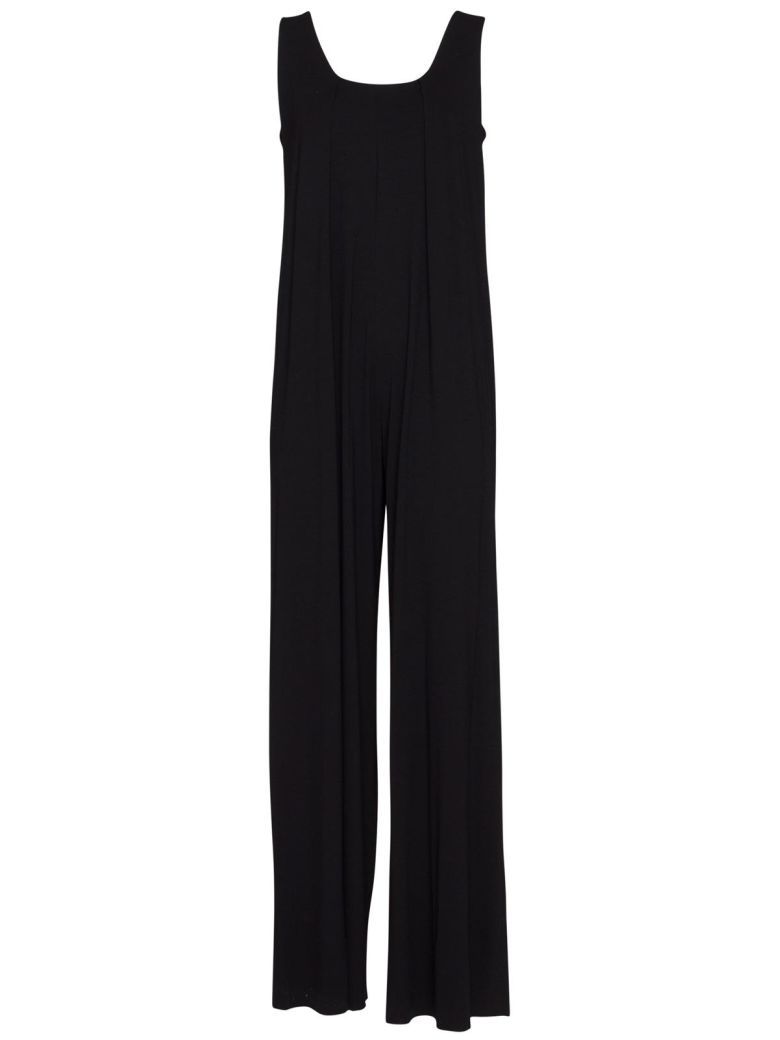 Stefano Mortari Full Suit With Front Folds In Black - NERO