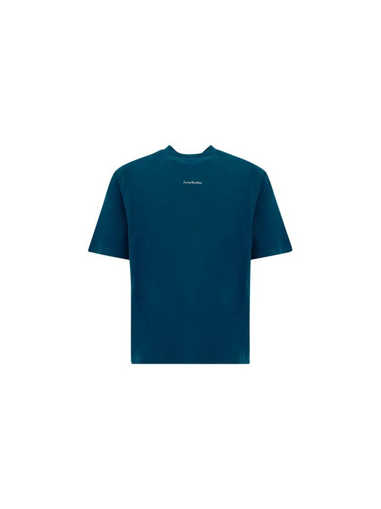Acne Studios T-shirt - Deep petrolio