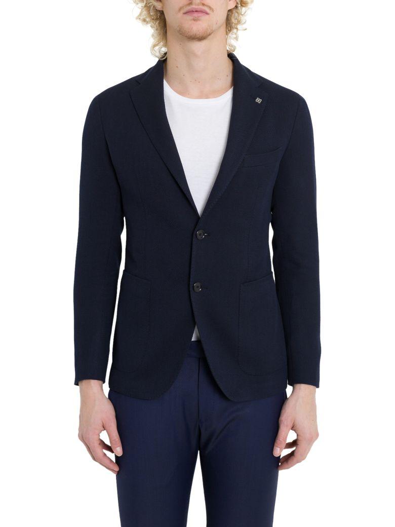 Tagliatore Single-breasted Blazer - Blu